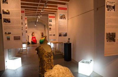 A l'exposició es pot trobar material divers (foto: Localpres)