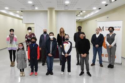 L'acte ha tingut lloc a l'auditori del museu. (Foto:Ajuntament/ Localpres).