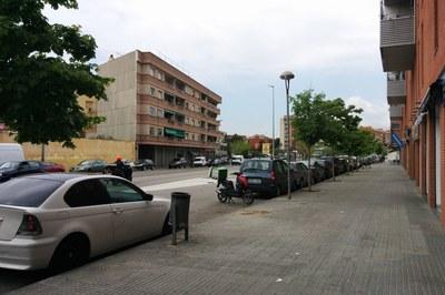 Un dels espais on s'està actuant és a l'avinguda de l'Estatut, al Sector Z.