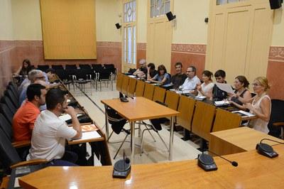 La Mesa de seguiment dels abocadors ha estat presidida per l'alcaldessa, Ana María Martínez (foto: Localpres).
