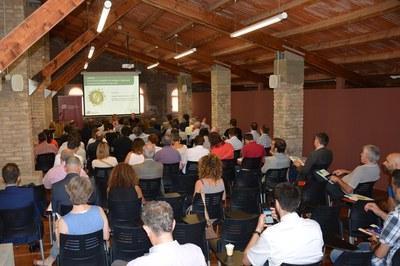 La jornada ha aplegat un centenar d'assistents al Fòrum de Can Serra.