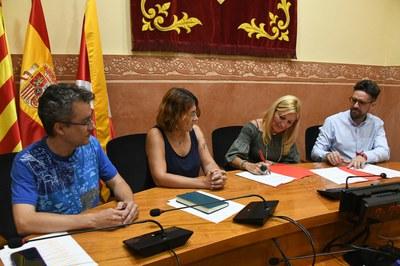 L'acord s'ha formalitzat aquest dimecres (foto: Ajuntament – Localpres).