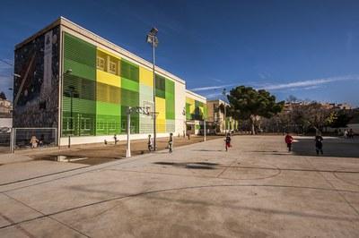 El pati obrirà els dissabtes i diumenges (foto: César Font).