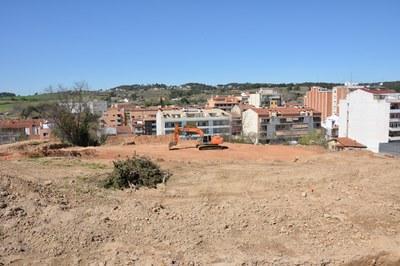 La urbanització del nou Parc de la Serreta és una de les diverses obres que s'estan executant en aquests moments a la ciutat.