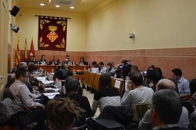 El Ple de desembre ha aprovat per unanimitat 5 mocions de diferents grups municipals.
