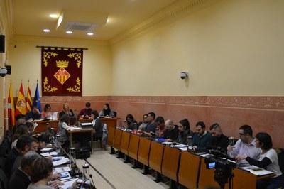 La sessió plenària corresponent al mes de desembre s'ha celebrat aquest dijous (foto: Ajuntament de Rubí).