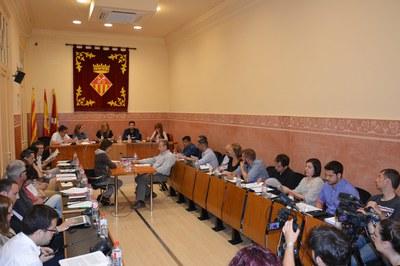 Un dels temes més destacats de la sessió plenària d'aquest dijous ha estat l'adquisició del Casino Español.