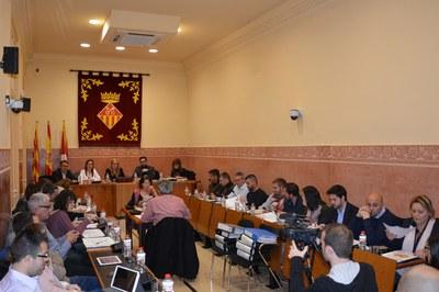 El debat sobre l'aprovació del text refós del POUM ha centrat bona part de la sessió plenària.