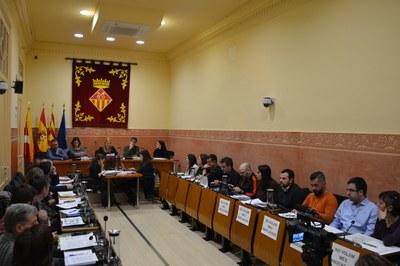 La sessió plenària corresponent al mes de gener s'ha celebrat aquest dimecres (foto: Ajuntament de Rubí).