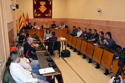 Els grups municipals han votat el tràmit en sessió extraordinària (foto: Ajuntament de Rubí).