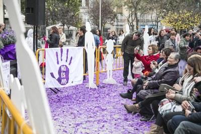 El 25 de novembre commemorem el Dia contra la violència masclista (foto: Ajuntament de Rubí – Lali Puig).