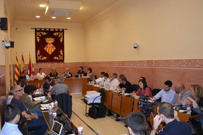 La sessió del mes d'abril ha comptat amb la presència de la Síndica de Greuges, que ha presentat l'informe de la seva gestió.
