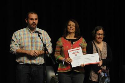 """""""Els Drets dels Infants 2015"""" ha estat el 3r classificat al certamen (foto: Localpres)"""