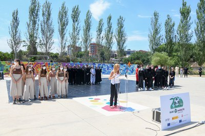 L'activitat anterior es va celebrar al parc del Castell (foto: Ajuntament de Rubí - Localpres).