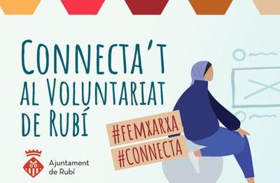 Detall de la imatge del Punt de Suport al Voluntariat (foto: Ajuntament de Rubí).