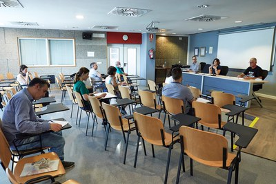 La Mesa s'ha reunit a l'edifici Rubí Forma (foto: Ajuntament de Rubí – Localpres).