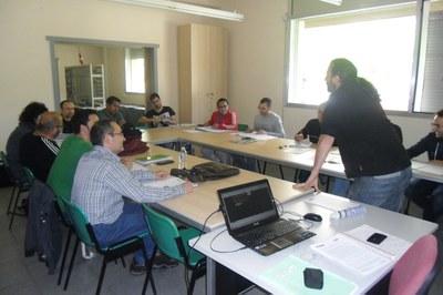 Els alumnes realitzen sessions teòriques i pràctiques de les diferents especialitats.