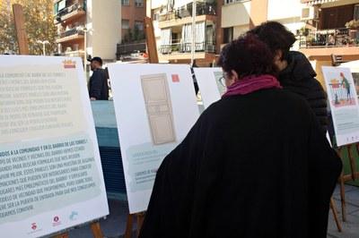 """Els propis veïns i veïnes han explicat a la gent del barri les conclusions del projecte """"Conviure a les comunitats de Les Torres"""" (foto: Ajuntament de Rubí)."""