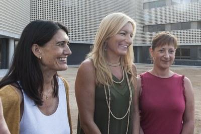 D'esquerra a dreta: Anna Malonda, Ana María Martínez i Marta García (foto: Cesar Font).