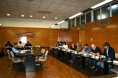 Els alcaldes i alcaldesses del Vallès Occidental s'han reunit aquest dimarts per tractar qüestions com la sanitat o l'habitatge (foto: Consell Comarcal del Vallès Occidental).