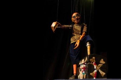 """Marionetes Nòmades portarà el muntatge """"El tresor del pirata"""" (foto: Marionetes Nòmades)."""