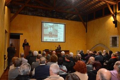 La inauguració ha comptat amb diversos parlaments i una conferència sobre la figura de Marroyo (foto: Localpres)