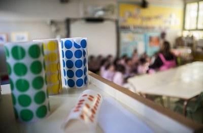 Les famílies poden visitar els centres (foto: Ajuntament de Rubí - César Font).