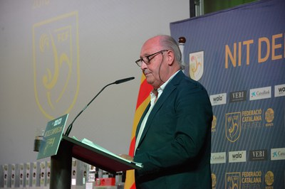 Joan Soteras, vicepresident de la Federació (foto: Localpres)