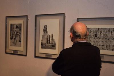La mostra conté una selecció de 22 làmines fotogràfiques que mai fins ara havien estat exposades (foto: Localpres)
