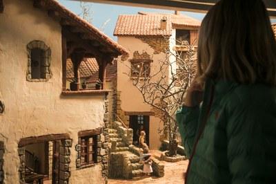 Els diorames són fruit d'un minuciós treball (foto: Ajuntament de Rubí – Lali Puig).