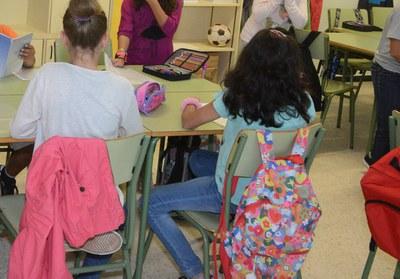 L'Ajuntament organitza tallers preventius  a escoles i instituts de la ciutat (Foto: Localpres).