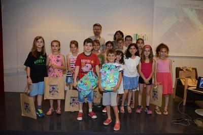 Foto de família dels guanyadors (Foto: Localpres).