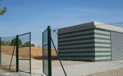 Accés als horts ubicats a Cova Solera.