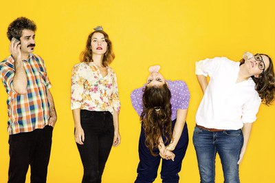 """El grup Les Sueques participarà a """"El meu primer festival"""" (foto: Les Sueques)."""
