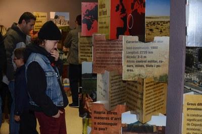 'Els murs de la vergonya' es podrà veure fins el proper 7 de febrer (foto: Localpres)