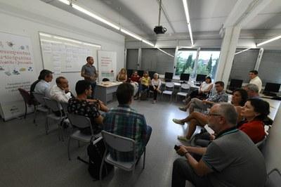 Moment del taller participatiu (Foto:Ajuntament/Localpres).