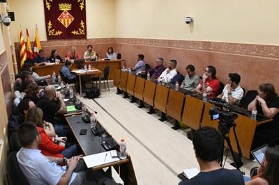 L'últim Ple del mandat s'ha celebrat aquest dimecres (foto: Ajuntament – Localpres).