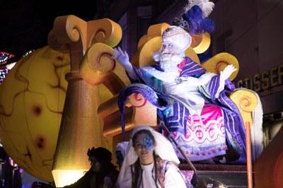 Els Reis han repartit alegria i il·lusions (Foto: Localpres).