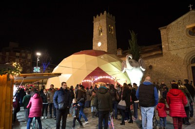 La fira dissabte al vespre (foto: Localpres).