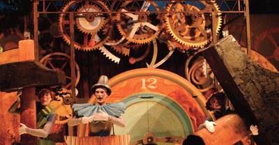 L'espectacle Carilló de Nadal, de la Cia. La Tal, amenitzarà la Fira de producte alimentari de Nadal (foto: La Tal).