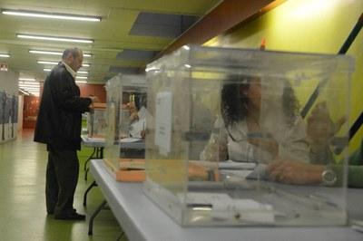 Cal que els sol·licitants estiguin inscrits al cens electoral (foto: Localpres).