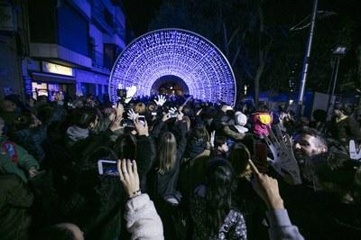 Una de cada 4 persones enquestades destaca el passadís de llum com a proposta més popular (foto: Ajuntament de Rubí – Lali Puig).