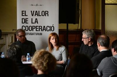 La xerrada ha estat presentada per la regidora de l'Àrea de Serveis a les Persones, Marta García (foto: Localpres).
