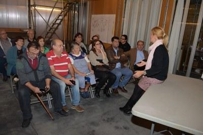 La trobada ha tingut lloc aquest dimecres a la tarda / Foto: Localpres.