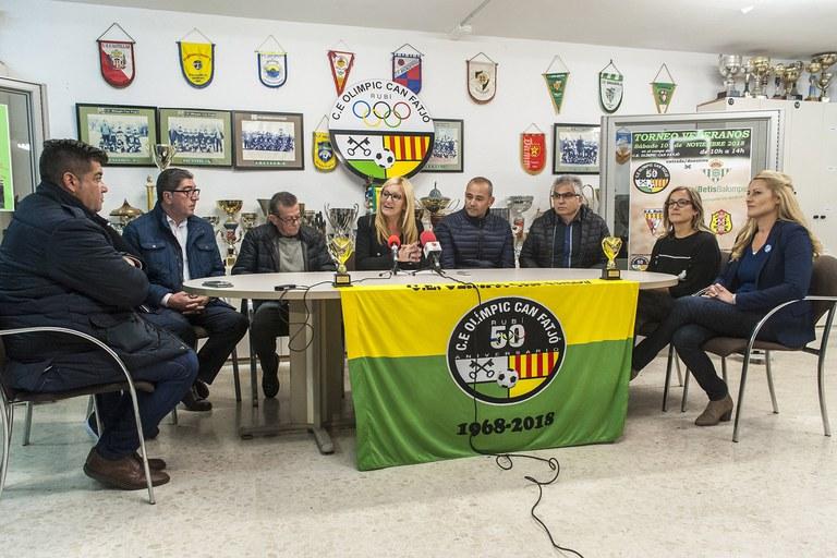Imatge de la roda de premsa (foto: Cesar Font)