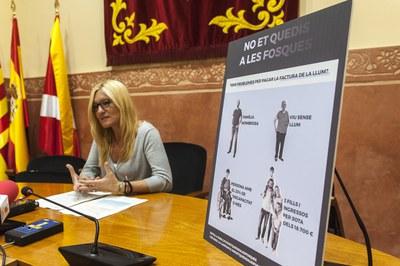 La presentació ha tingut lloc aquest dilluns (Foto: Cesar Font).