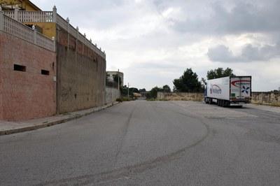 Una de les actuacions es durà a terme al carrer de Montblanc, a Castellnou (foto: Localpres).