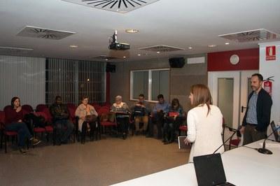 El taller s'ha celebrat aquest dijous al Rubí+D (foto: Localpres).