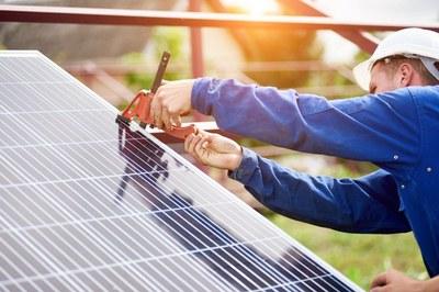 L'objectiu del Consistori és potenciar les instal·lacions d'aprofitament d'energia fotovoltaica (foto: Ajuntament de Rubí).