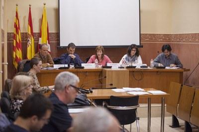 La primera reunió ha estat presidida per la regidora de l'Àrea de Serveis a les Persones (foto: Localpres).
